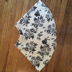 Mini skirt (floral)